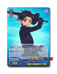 《Spriggan》 Boy, Kirito [SAO/S26-E065S SR (FOIL)] English