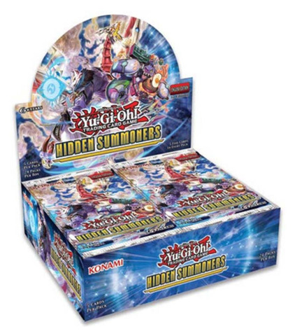 Hidden Summoners (1st Edition) Yugioh Booster Box * PRE-ORDER Ships Nov.16, 2018