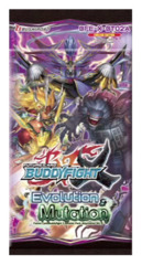 BFE-X-BT02A Evolution & Mutation (English) Future Card Buddyfight X Booster Pack