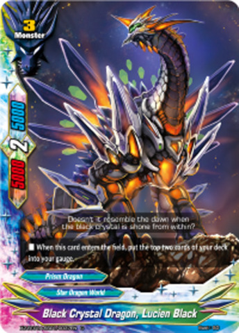 Black Crystal Dragon, Lucien Black [X2-BT01A-SS01/0037EN C (Regular)] English