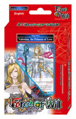 A02 Valentina, the Princess of Love (English) Force of Will Water Starter Deck