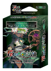 SDS1 ST04 Magic Circle of the Hurricane (English) Force of Will Wind Starter Deck