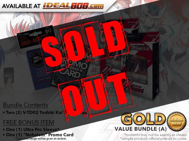 CFV-V-TD02 BUNDLE (A) Bronze - Get x2 Toshiki Kai Trial Decks + FREE Bonus Items