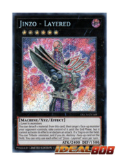 Jinzo - Layered - DLCS-EN149 - Secret Rare - Limited Edition