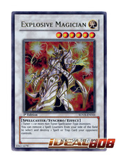 Explosive Magician - SOVR-EN044 - Ultra Rare - Unlimited Edition