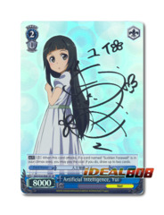 Artificial Intelligence, Yui [SAO/S20-E081SP SP (SIGNED FOIL)] English