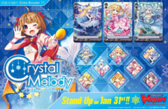 CFV-V-EB11 Crystal Melody (English) Cardfight Vanguard V-Extra Booster  Case [24 Boxes] * PRE-ORDER Ships Jan.31, 2020