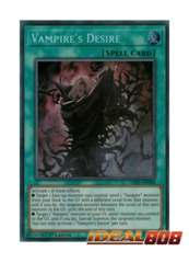 Vampire's Desire - DASA-EN008 - Secret Rare - 1st Edition