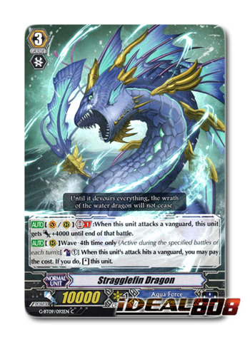 Stragglefin Dragon - G-BT09/092EN - C