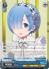 The Happy Roswaal Mansion Family, Rem [RZ/S55-E071S SR (FOIL)] English