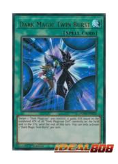 Dark Magic Twin Burst - DUPO-EN018 - Ultra Rare - Unlimited Edition