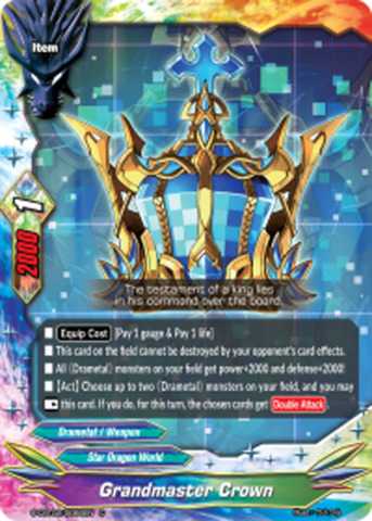 Grandmaster Crown [S-CBT02/0066EN C (Regular)] English