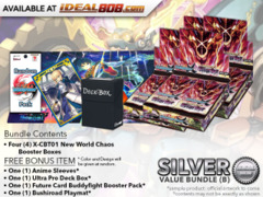 BFE X-CBT01 Bundle (B) Silver - Get x4 Driven to Disorder Booster Box + FREE Bonus Items