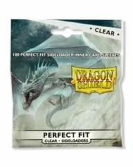 Dragon Shield Perfect Fit Size Sideloading Sleeves 100ct Pack Clear