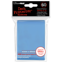 Ultra Pro Small Sleeves 60ct. - Sky Blue (#82972)