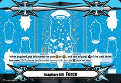 ▽ Imaginary Gift Marker II [Force II] Sea Otter Outline on Blue Poco - V-GM2/0064EN (FOIL)