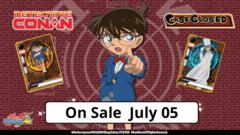 # Case Closed | Detective Conan [S-UB-C01] Base Set [Includes 4 of each RRR, RR, R, & C (240 cards)]