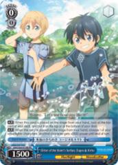 Glitter of the Water's Surface, Eugeo & Kirito [SAO/S65-E106 PR (Regular)] English