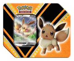 Pokemon TCG: V Powers Tin - Eevee V * PRE-ORDER Ships Sep.04