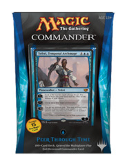 Commander 2014: Peer Through Time (Blue) feat. Teferi, Temporal Archmage
