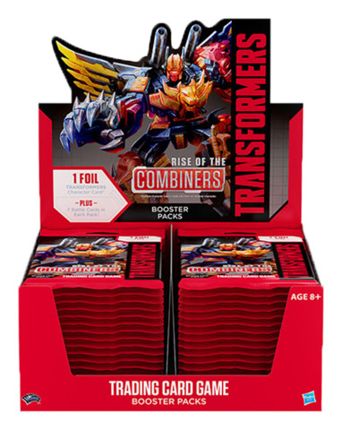 B02 Rise of the Combiners (English) Transformers TCG Booster Box [30 packs]