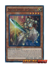 Dragon Knight of Creation - SR02-EN002 - Super Rare - 1st Edition