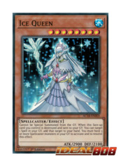 Ice Queen - AC18-EN005 - Super Rare - 1st Edition