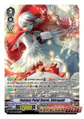 Fantasy Petal Storm, Shirayuki - V-BT04/DR03EN - DR (Delete Rare)