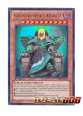 Gravekeeper's Oracle - LVAL-EN034 - Ultra Rare - 1st Edition