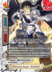 Mikazuchi Knight, Rebellious [S-BT02A-UB04/0021EN R (FOIL)] English
