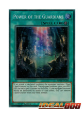 Power of the Guardians - MP18-EN208 - Super Rare - 1st Edition