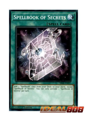 Spellbook of Secrets - SR08-EN027 - Common - 1st Edition
