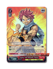 Fairy Tail Wizard, Natsu [FT/EN-S02-053SP SP (SIGNED FOIL)] English