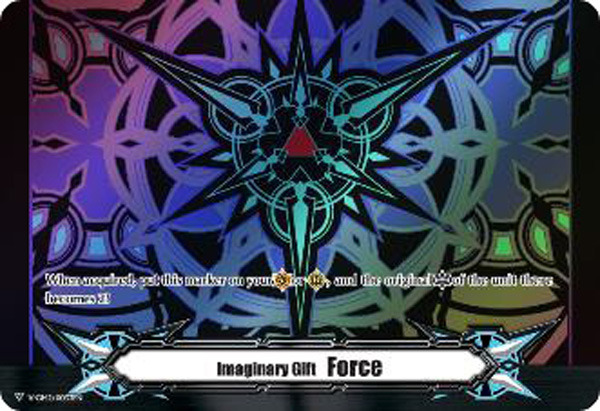 ▽ Imaginary Gift Marker [Force II] Blaster Dark Themed Colors - V-GM2/0033EN (FOIL) [V-BT06]