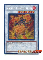 Ancient Flamvell Deity - HA04-EN056 - Secret Rare - Unlimited Edition