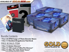 Dragoborne BT04 Bundle (B) - Get x4 Surge of Titans Booster Boxes + FREE Bonus Items * PRE-ORDER Ships Jun.29