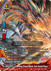 Clashing Crimson Battler, Guns Knuckle Dragon [X2-BT01A-SP/0018EN R (Parallel FOIL)] English