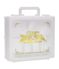 ZeXal Logo White / Clear Card Carrying Case