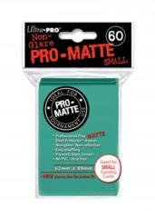 Ultra Pro Matte Non-Glare Small Sleeves 60ct - Aqua (#84152)