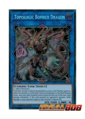 Topologic Bomber Dragon - MP18-EN065 - Secret Rare - 1st Edition