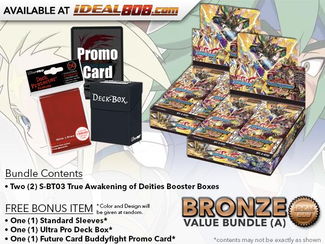 BFE-S-BT03  Bundle (A) Bronze - Get x2 True Awakening of Deities Booster Box + FREE Bonus Items