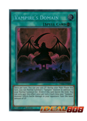 Vampire's Domain - DASA-EN009 - Secret Rare - 1st Edition