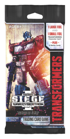 TRANSFORMERS TCG SIEGE BOOSTER BOX WAR FOR CYBERTRON