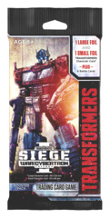 B03 War for Cybertron Siege I (English) Transformers TCG Booster Pack [8 Cards]