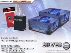 Dragoborne BT04 Bundle (A) - Get x2 Surge of Titans Booster Boxes + FREE Bonus Items * PRE-ORDER Ships Jun.29
