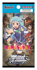 Konosuba Vol.2 (English) Weiss Schwarz Booster Pack