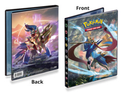Pokemon Ultra Pro 4-Pocket Portfolio Album - Sword & Shield - Zacian & Zamazenta (#15224)