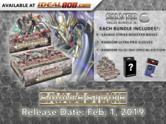 Savage Strike Bundle (B) - Get 4x Booster Boxes + Bonus Items * PRE-ORDER Ships Feb.01, 2019