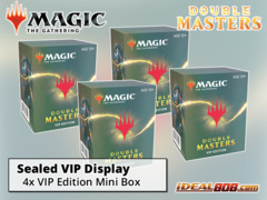 Double Masters (2XM) VIP Edition  Display (4 Mini Pack Boxes) * PRE-ORDER Ships Aug.07