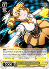Mami's Confrontation with Homura [MM/W35-E001S SR] English